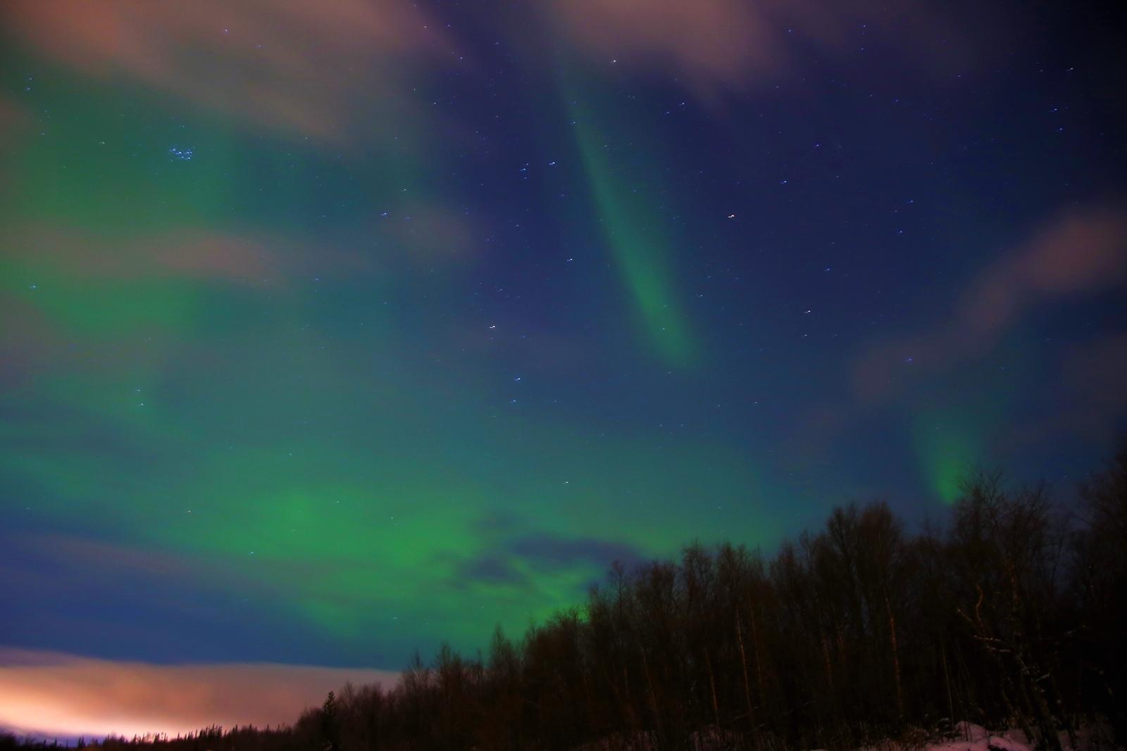 Murmansk – poate cel mai ieftin loc in care sa vezi aurora boreala